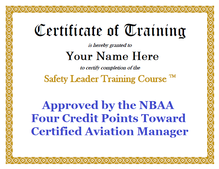 Safety Leader Training Course
